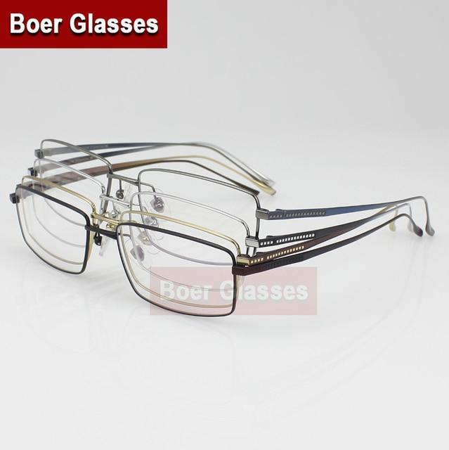 259f05751c New Full Rim Men s Eyeglasses Pure Titanium glasses prescription eyewear  RXable 3004 size 54-16-140