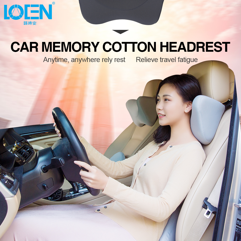 Children Rear Seat Car Headrest Neck Pillow For Kids Auto Support Cover U Shaped Memory Foam Pillow For The Neck Car Accessories