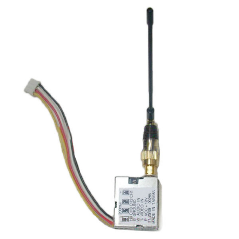 BT 1.2Gghz/1.3Ghz 4CH 200mw Wireless Audio Video 1080M 1120M 1160M 1200M transceiver Mini Transmitter VTX