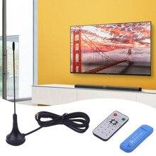 USB2.0 Digital DVB-T SDR DAB FM HDTV TV Tuner Receiver Stick with Antenna