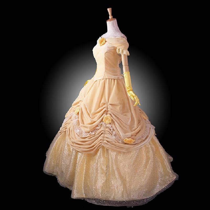 մեծահասակ արքայադուստր բել - Կարնավալային հագուստները - Լուսանկար 2