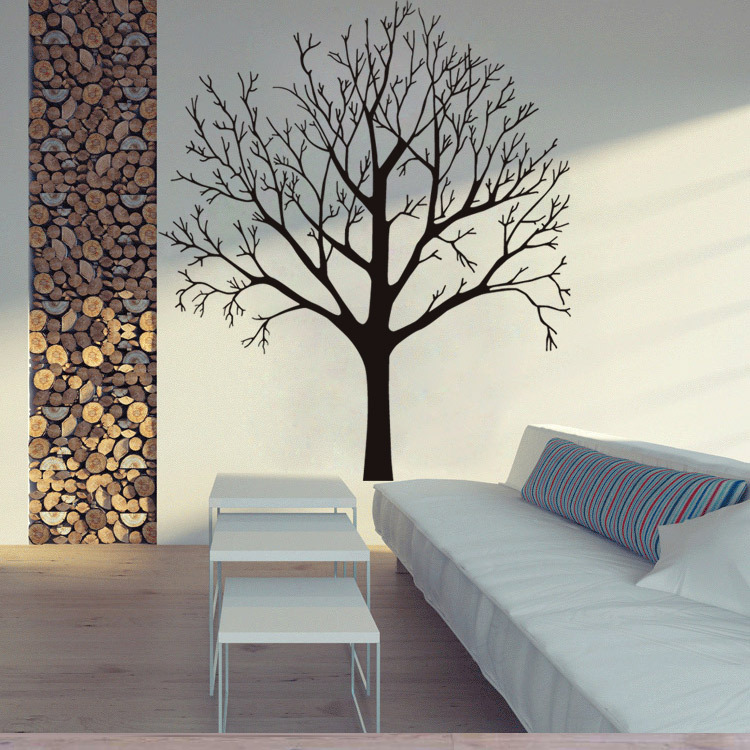 Wall Stickers Tree Decal Home Decoration 3D Wallpaper Wall Art  56X80cm CP0565
