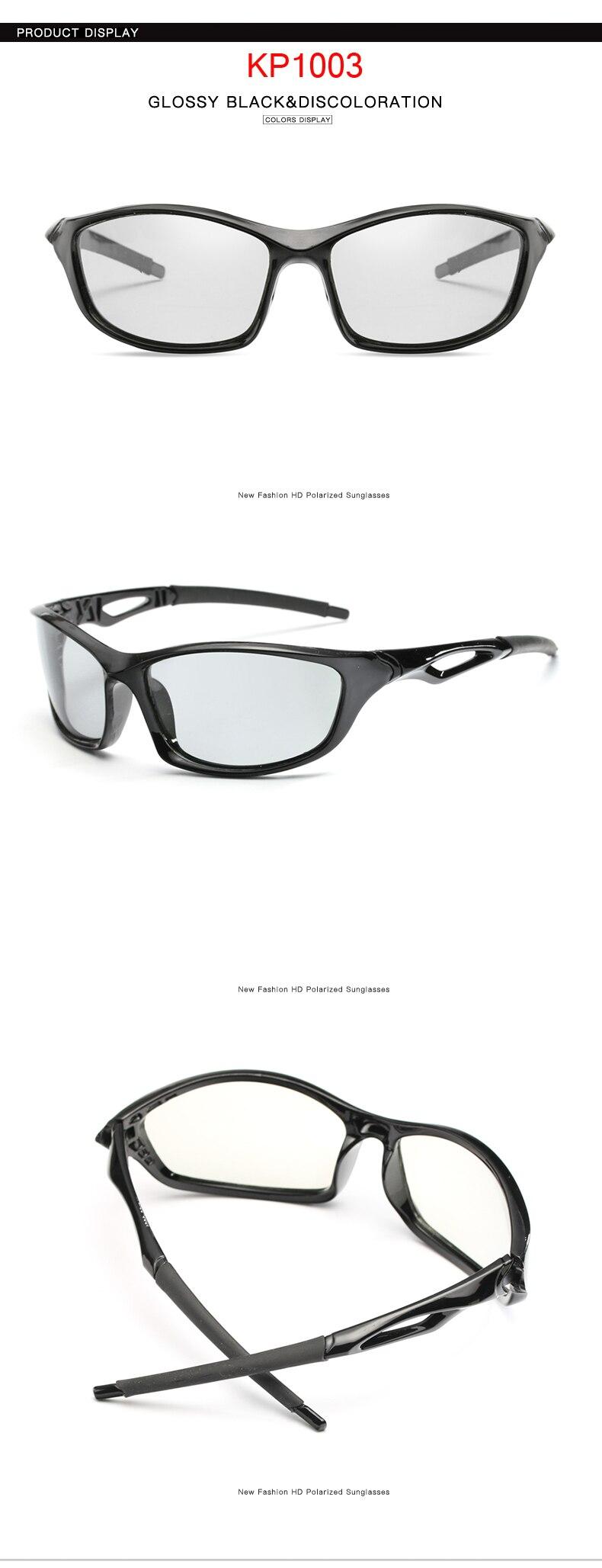 6696555a12 LongKeeper 2018 Photochromic Sunglasses Classic Men Outdoor UV400 Black  Frame Sun Glasses Women HD Polarized EyewearUSD 6.75 piece