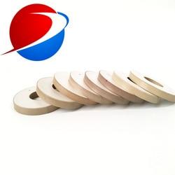 50mm*20mm*6mm piezoelectric ceramic materials Pzt-8,Piezoelectric Ceramic Rings For Vibration Sensor / Ultrasonic Parts