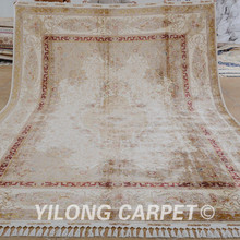 beige antique rug Handmade