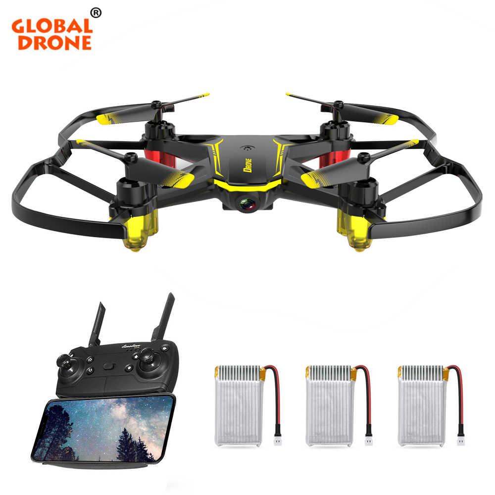 Глобальный Дрон GW66 мини Дрон Квадрокоптер FPV Дроны с камерой RC полет вертолета дистанционное управление Дрон QC-16 Игрушки для мальчиков