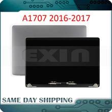 Nieuwe GREY GRIJS ZILVER Laptop A1707 LCD montage voor Macbook Pro Retina 15