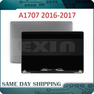 Новый серый, серый, серебристый ноутбук A1707 ЖК-дисплей в сборе для Macbook Pro Retina 15