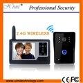 Waterproof Smart video door phone 3.5 inch COMS camera door access control wireless video door bell Hands free video door phone