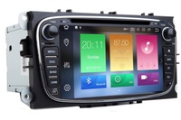 In Stock 4G+32G Android 8.1 Car DVD GPS Navi For FORD Focus C Max Mondeo With Wifi 4G Bluetooth Radio RDS Steering wheel OBD