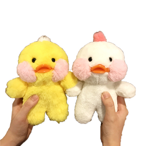 Image 5 - Cartoon Phone Case For Iphone 12 11 Pro MAX  Cute Yellow Duck Doll Cover Case For Iphone XS XR 8plus 7 6plus SE Fluffy Plush