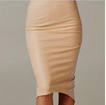 1bb920d919 Worldwide delivery slit faux leather skirt in NaBaRa Online