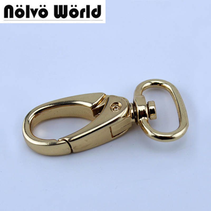 50pcs 5 Colors 20X46mm 2cm Swivel Snap Hook,Handbag Purse Bag Making Hardware цена