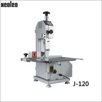 Xeoleo Bone sawing machine Commercial Bone cutting machine Frozen meat cutter machine 110V/220V for cut Ribs/Fish/Meat/Beef