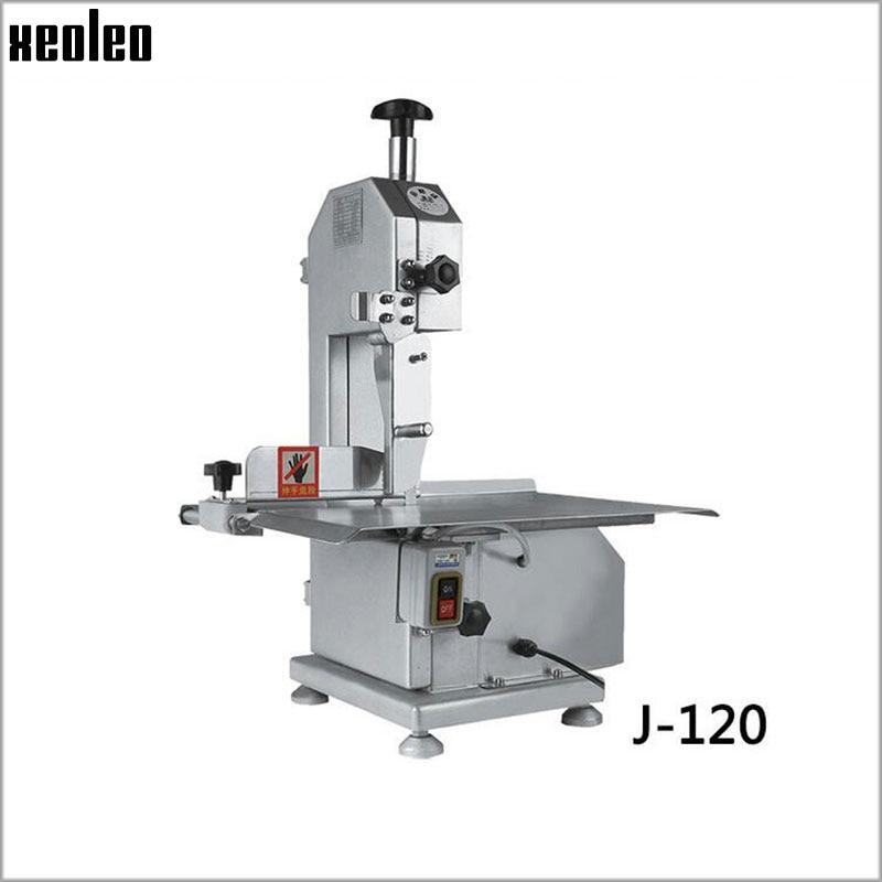 Xeoleo Os sciage machine Commerciale machine de découpe Osseuse coupeur de viande Congelée machine 110 V/220 V pour Côtes de /poisson/Viande/Boeuf