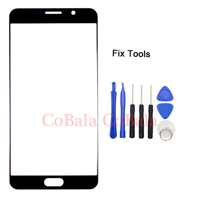 """1Pcs Genuine Original For Samsung Galaxy Note5 Note 5 N920F N920 Front Glass 5.7"""" Touch Screen Outer Panel Lens Repair Part"""