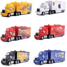 Autos 2 Disney Pixar Autos 3 Spielzeug Blitz McQueen Mack Onkel Lkw Jackson Storm Mater 1:55 Diecast Metall Legierung Auto modus Spielzeug