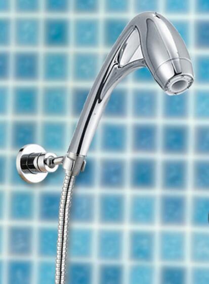 free shippingabs handheld shower hotels pressure boosting high power massage shower head with arm showerhead