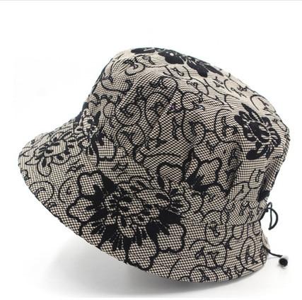 Mujeres Madre abuela Sombrero de sol de moda Floral Pescador Panamá - Accesorios para la ropa - foto 6