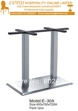 Stainless steel table base kd packing 1pc carton fast delivery