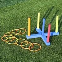 Outdoor Ring Toss Game Hula Hoop Kids Game Yard Backyard Fun Play Throw