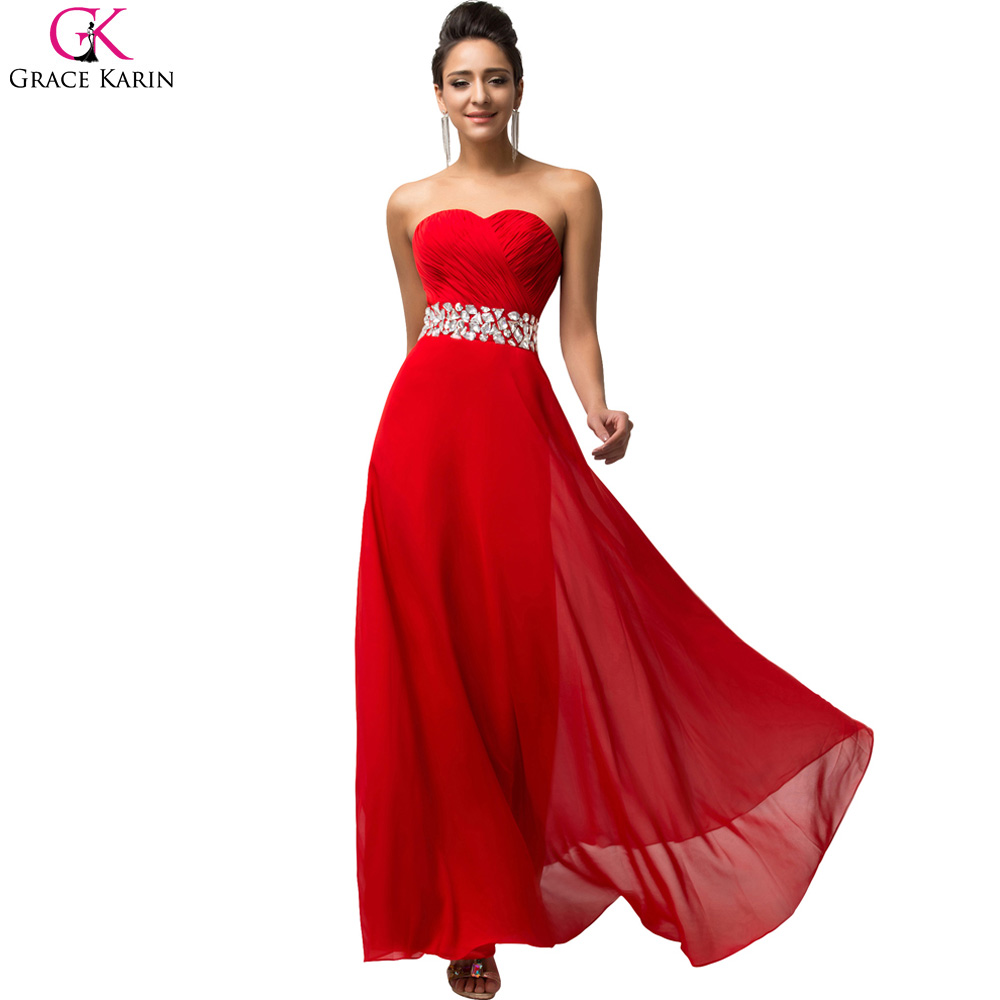 Buy grace karin evening dresses beaded for Elegant wedding party dresses
