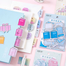 45pcs/bag Index sticker pack Self-Adhesive N Times Indexes Memo Pad Sticky Notes stickers School Office Supply все цены