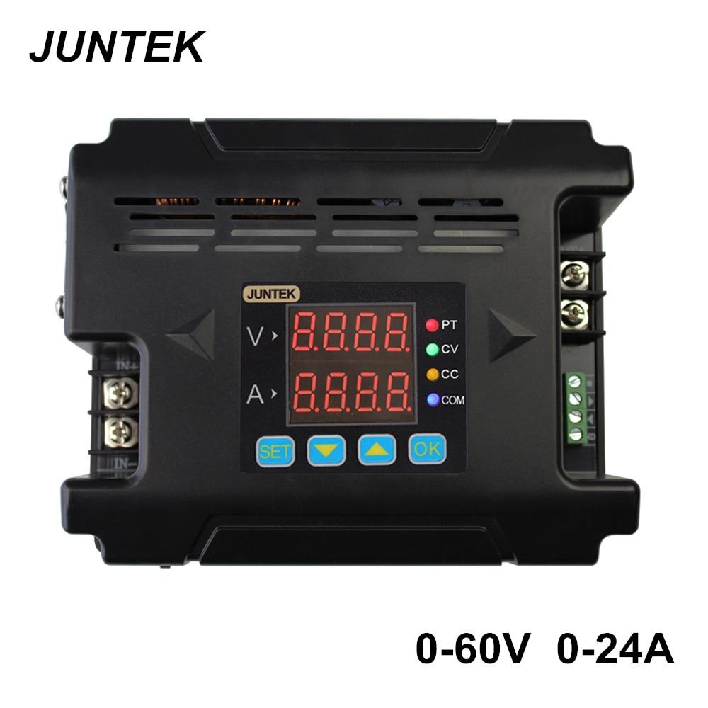 JUNTEK DPM8624 60V24A Constant Voltage current DC DC Step down communication Power Supply buck Voltage converter