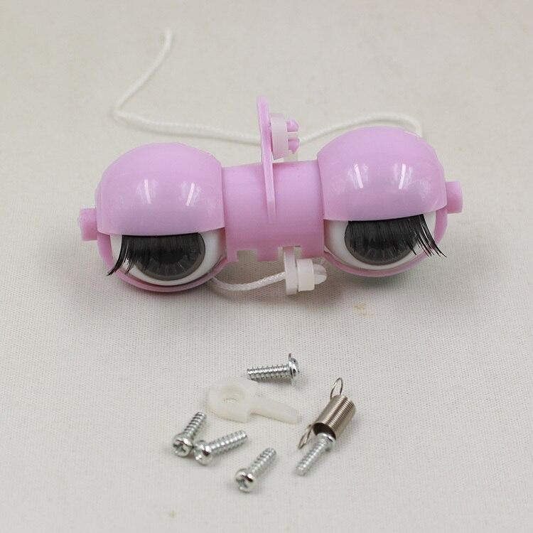 все цены на only for blyth doll eyes machine machinery accessories screws T-bar C-bar eyechips pupils 1/6 30cm gift toy