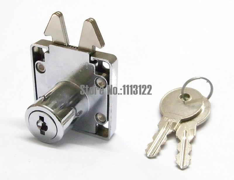 US $5 5 |Mortise lock Cabinet Furniture Drawer lock with key Cabinet lock  with hook cam 1 PC-in Locks from Home Improvement on Aliexpress com |