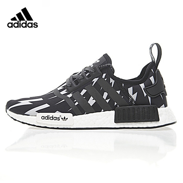 regarder e3094 c912b Adidas Neil Barrett X Adidas NMD R 1 Boost ,Authentic Women's Comfort  Lifestyle Running Shoes,Women's Sneakers, Black BA7561-in Running Shoes  from ...