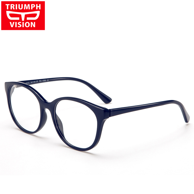 703e550fb Round Prescription Glasses Women Myopia Clear Lens Eyeglasses Optical  Reading Glasses Oculos Gafas Graduadas Mujer Transparente