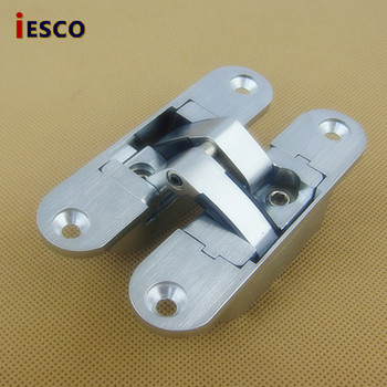 Adjustable cross hidden hinge outer invisible door hinge door hinge folding door hinge 95mm background фото