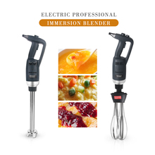 Fixed Adjustable Speed Immersion Blender Stainless Steel Juicer Jam Mixer With Blending Stick 200/250/300/400/500mm Mixing цена и фото