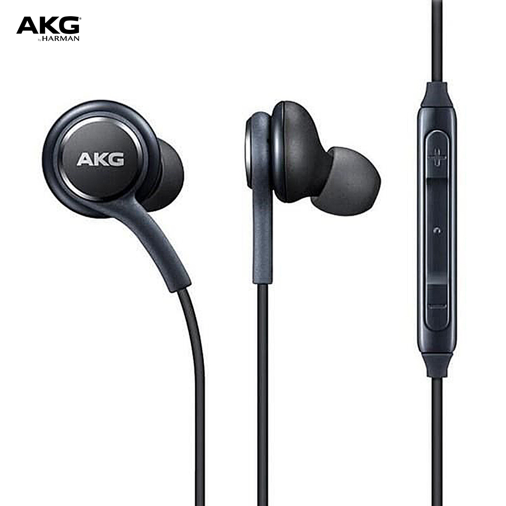 AKG In-Ear Earphones For Galaxy S8/S8+ Volume Control With Mic Hands-free Headphone 3.5mm Wired In-line Earphones Stereo Earbuds