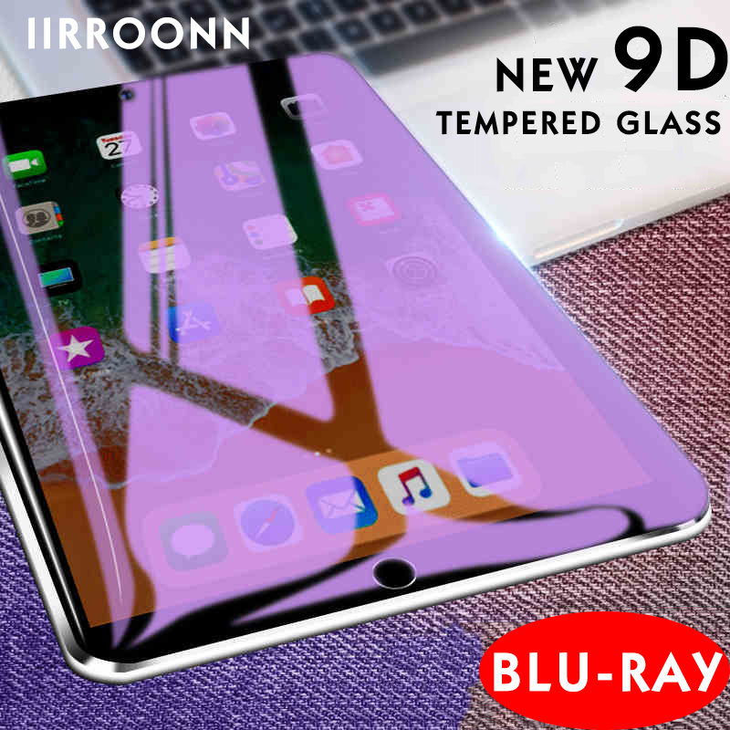 Anti-Blau Licht Gehärtetem Glas Für Apple iPad 2/3/4 Mini Air 1 2 Mini3 4 2017 2018 iPad Screen Protector Tablet Schutz Film
