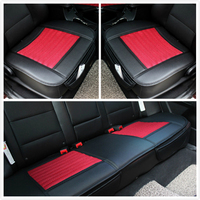 Car Seat Cushion 3 Piece Set Four Seasons General Leather Viscose 5 Seatpad Summer Car Cushion