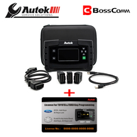 Autek IKEY820 Car OBD2 Key programmer 2018+ FOR Ford and Toyota G and H chip reset Add keys&All keys lost software activated