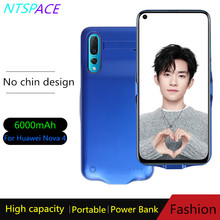 Extended Phone Battery Power Case 6000mAh Portable Power Bank Charging Case For Huawei Nova 4 Backup Battery Charger Cover
