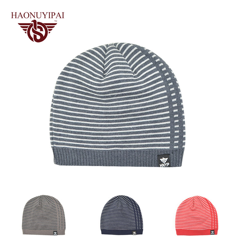 Winter Knitted Hat For Men Women Warm Beanies Hats Wool Ski Cap Winter Doublelayer Hat Skullies Beanies Bonnet Cap Gorras autumn and winter letter hat skullies beanies wool knitted hats for women ski cap men sport acrylic hat rx120