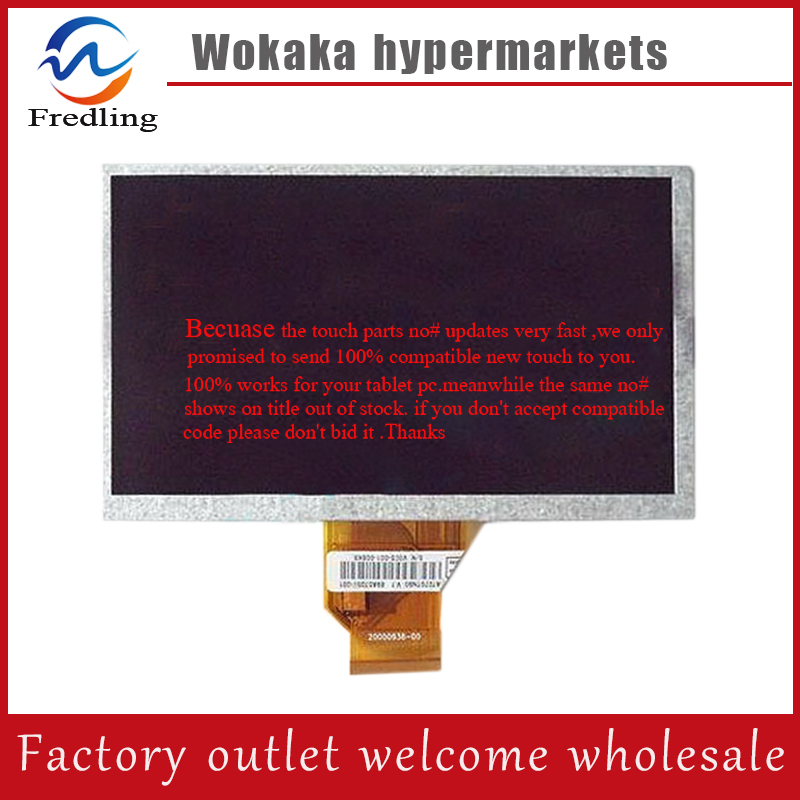 Original New 100% 7''LCD screen lcd display lcd panel for tablet pc Gemei G3 Telast P75A P76TI p76v for free shipping original and new 8inch lcd screen claa080wq065 xg for tablet pc free shipping