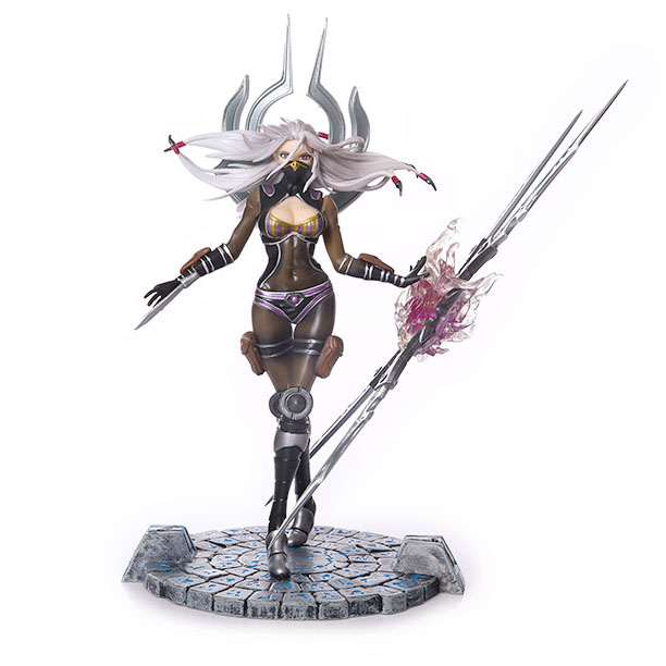 Free Shipping 9 Hot Game  LOL Hero Irelia - the Will of the Blades Boxed 23cm PVC Action Figure Collection Model Doll Toy Gift
