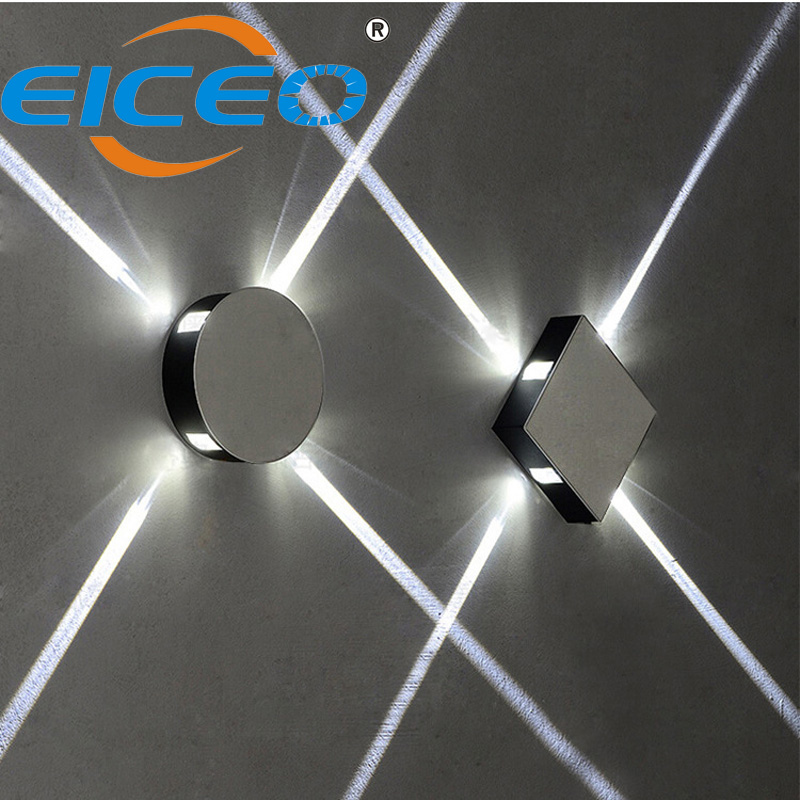 Modern Led Wall Lamp Surface Mounted Up