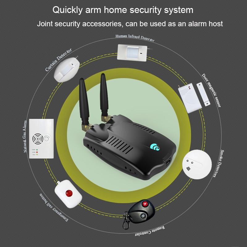 RF Bridge Wifi 433 Wireless Smart Home Universal Curtain Blinds Garage Door Remote Controller, RF Bridge Roller Shutter Switch 6