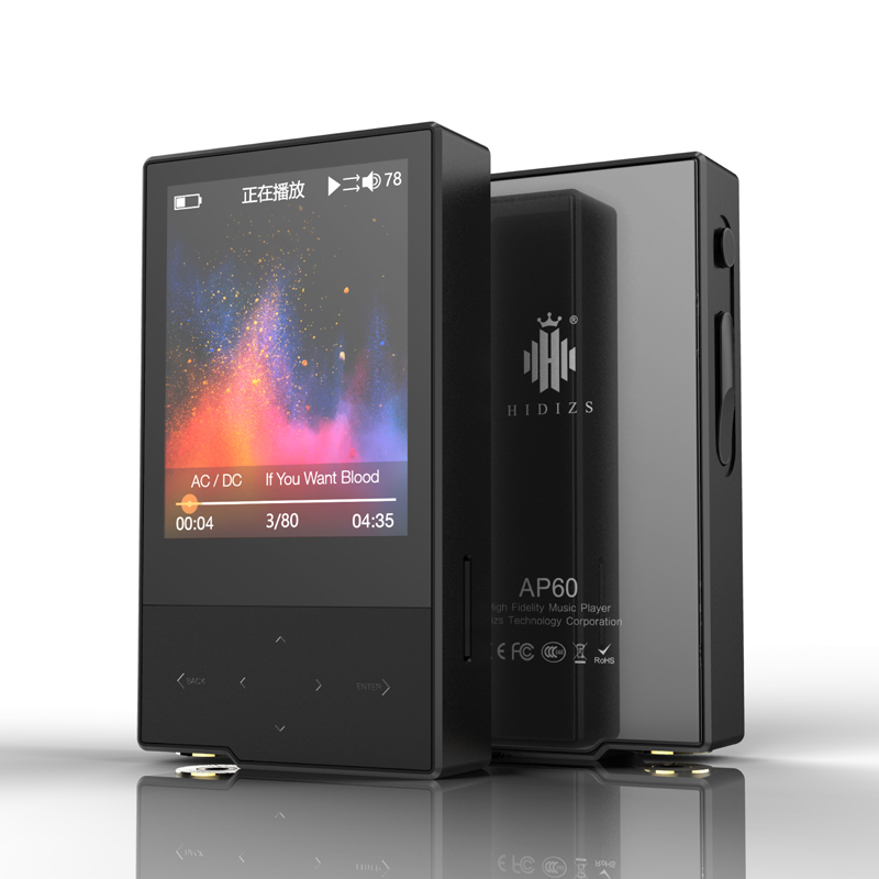 Hidizs AP60 II HiFi Питьевая Bluetooth 4,0 Apt x DSD USB ЦАП FLAC AAC APE MP3 музыкальный плеер AKM4452VN MAX97220A AP60II AP60 II