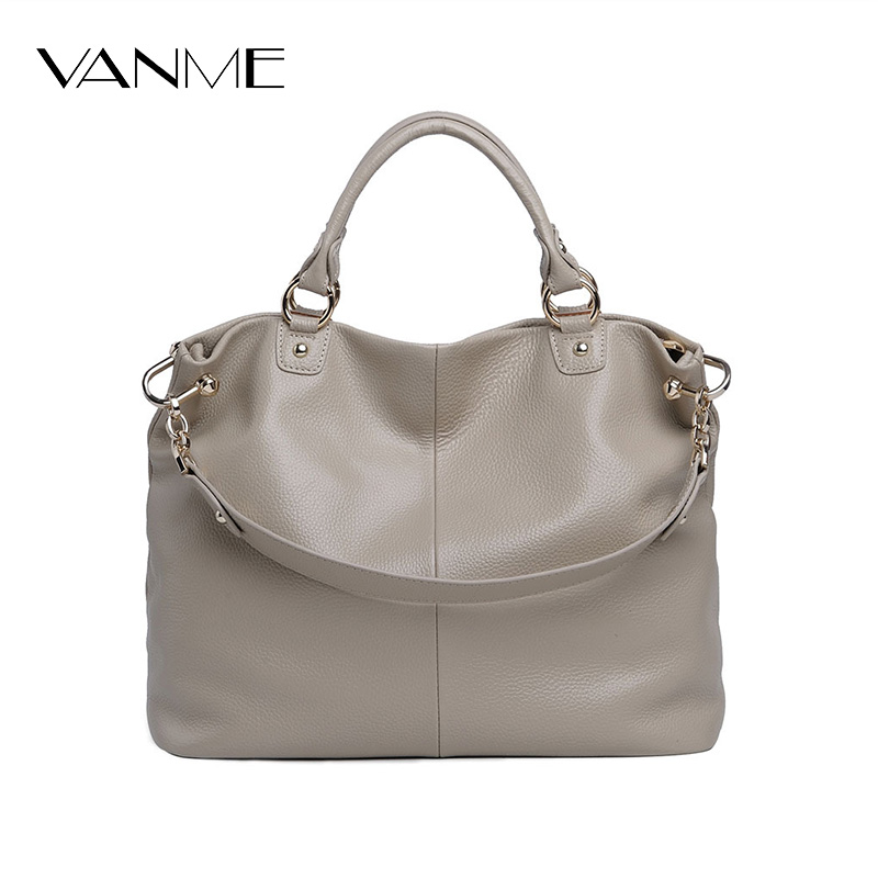 2017 New Arrival Russian Style First Layer Cowhide Fashion Totes Hand Bag Messenger Shoulder Bags Large Capacity Leather Handbag russian phrase book