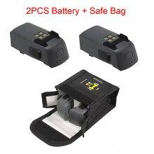 2PCS Intelligent Flight Battery & Spark Battery Safe Bag For DJI Spark Drone Inteligente de bateria de VOO Drop Shipping Jul26