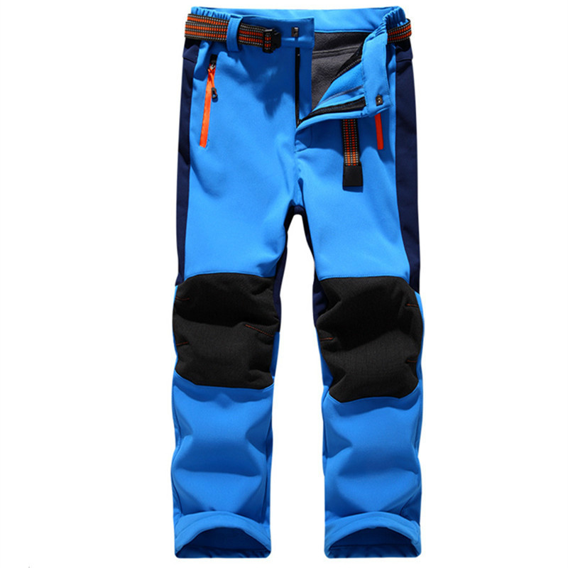 MiaoYi Winter Children Outdoor Pants Fleece Trousers Russian Winter Snow Kids Girls Boys Windproof Waterproof Ski Pants 5-14Y