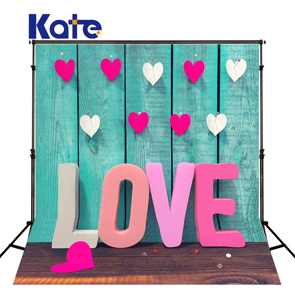 Kate Fondos De Estudio Fotografia Wood Floor Wood Wall Pink Love For Wedding Kate Background Backdrop сумка kate spade new york wkru2816 kate spade hanna