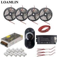 Led Strip 5050SMD Warm White/White/Red/Blue Light DC12V+Led SYNC Dimmer Controller Power Transformer Kit 5M 10M 15M 20M